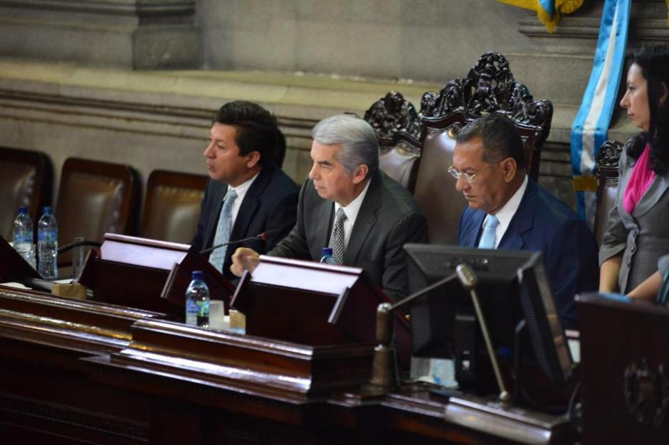 Con 103 diputados inicia la sesión plenaria en el Congreso de la República. (Foto: Jesús Alfonso / Soy502)