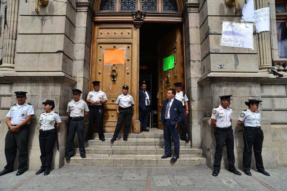 Esta mañana se tiene prevista una sesión de Jefes de Bloque en el Congreso de la República. (Foto: Wilder López/Soy502)