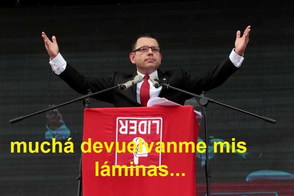 Los memes más compartidos en las redes sociales van dirigidos contra Manuel Baldizón.