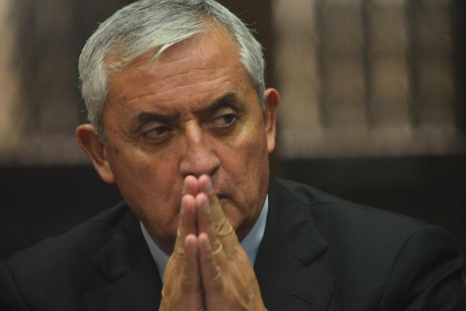 El expresidente Otto Pérez Molina fue mencionado en las escuchas telefónicas presentadas en la audiencia de primera declaración de la Línea 2. (Foto: Archivo/ Soy502)