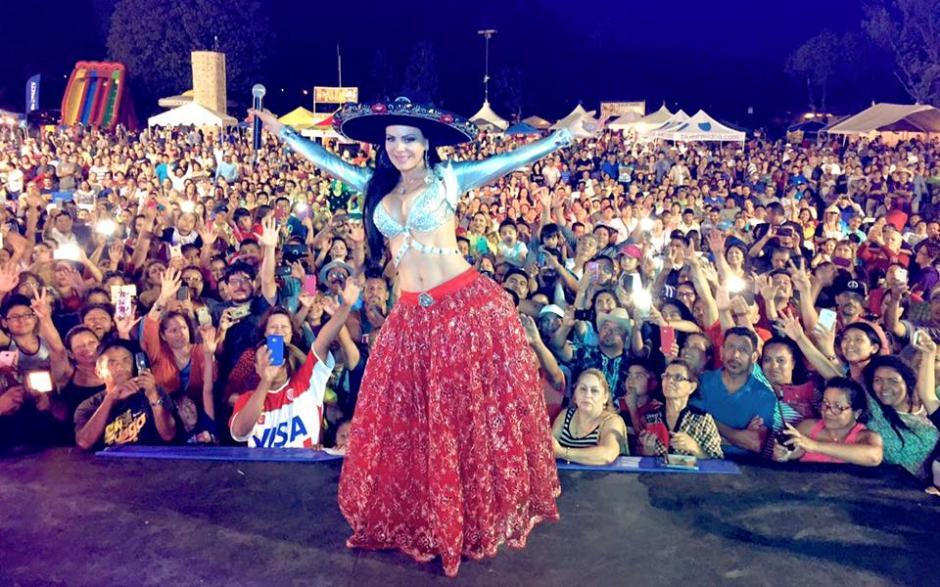 En los últimos días ha participado en eventos de las fiestas patrias en México.(Foto: Facebook Maribel Guardia)