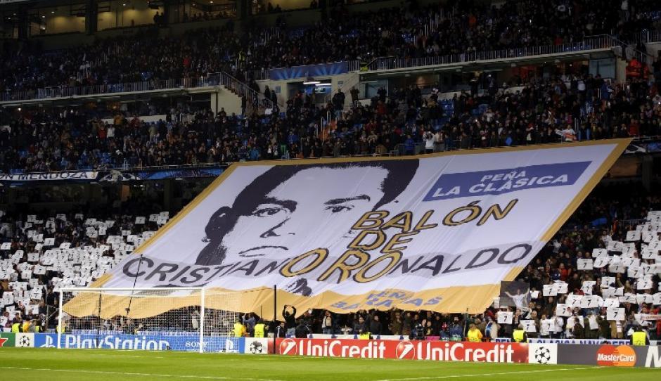 El luso cuenta con el apoyo total de la afición madridista. (Foto: AFP)