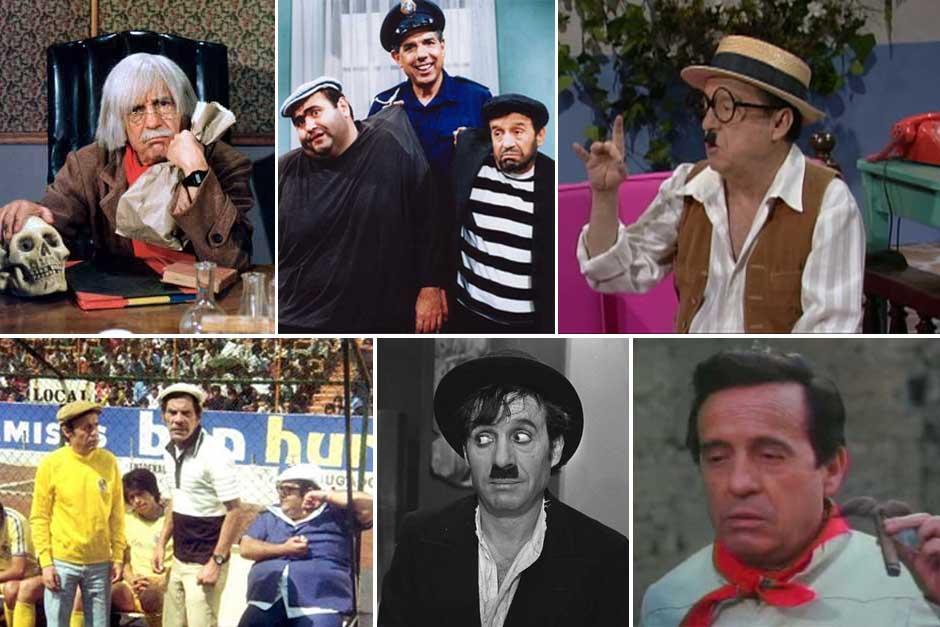 El Doctor Chapatín, el Chompiras, Chaparrón Bonaparte, el Chanfle, Charles Chaplin y el Charrito; fueron varios de los personajes que encarnó Roberto Gómez Bolaños.