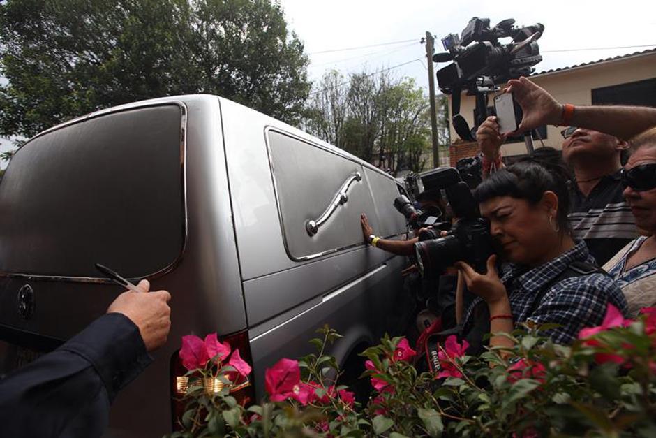 Este jueves 17 de abril de 2014, Gabo falleció y su cuerpo fue trasladado hacia una capilla en la ciudad de México (Foto: AFP)
