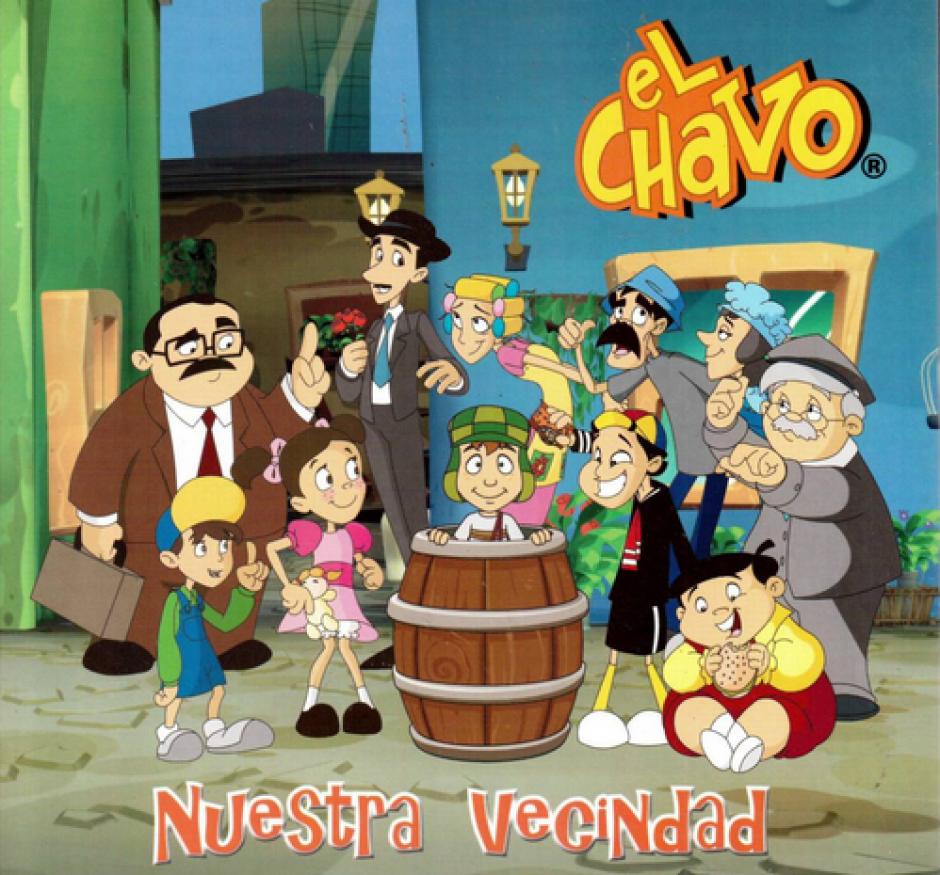 La serie El Chavo del Ocho ha sido llevada a un formato animado por la televisión mexicana. (Foto: revistaactual.com.mx)