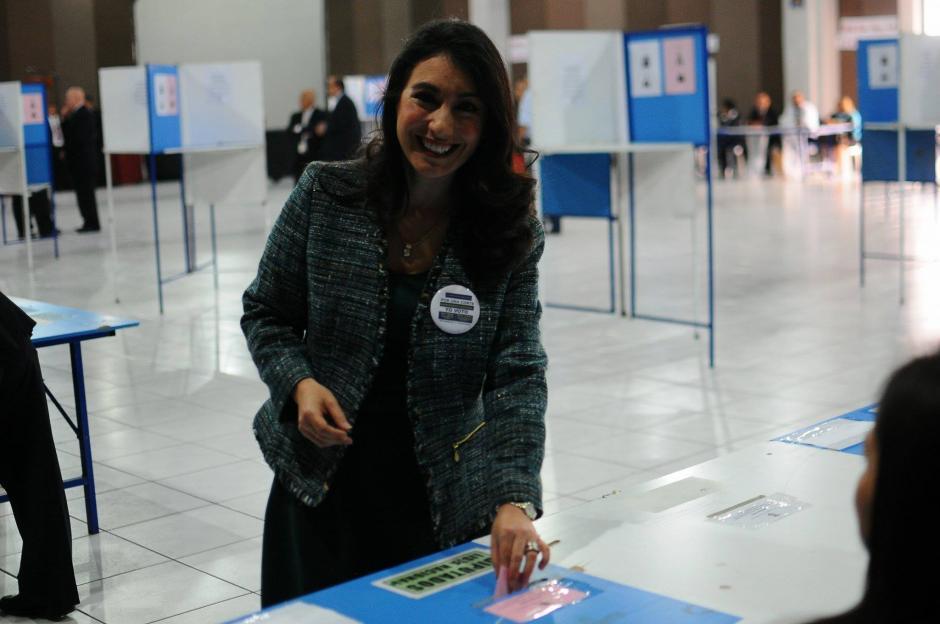 La exmagistrada de Apelaciones, María Cristina Fernández, obtuvo el 38% de los votos el pasado miércoles. (Foto: Alejandro Balán/Soy502)