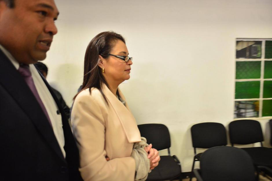 Baldetti también pudo haber sido trasladada a la audiencia del Caso La Línea. (Foto: Jesús Alfonso/Soy502)