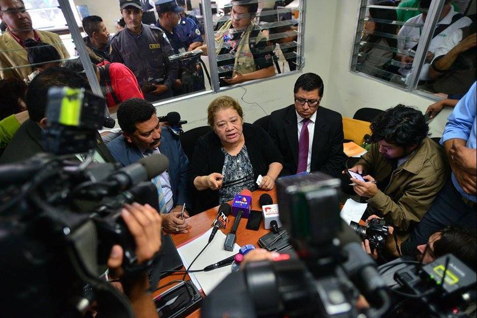 Marta Sierra de Stalling continuará ligada a proceso y deberá guardar prisión domiciliaria. (Foto: Archivo/Soy502)