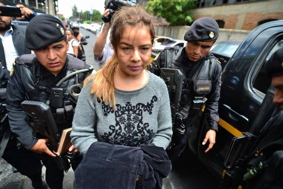 "Claudia Méndez, ex intendete de Aduanas, fue arrestada sindicada de pertenecer a la estructura criminal ""La Línea"". (Foto: Wilder López/Soy502)"