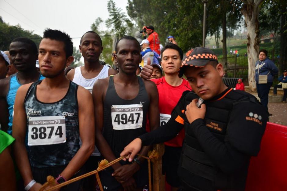 Los keniatas marcaron el paso en la edición 79 de la Max Tott. (Foto: Jesus Alfonso/Soy502)