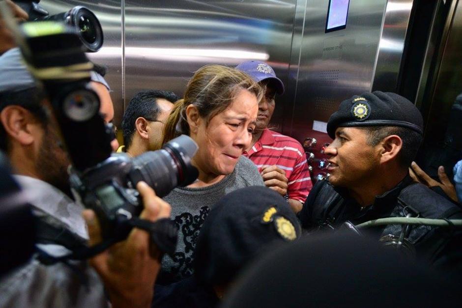 La ex intendente de Aduanas señaló en su última conferencia de prensa que dio el 21 de abril pasado, que no tenía control de lo que sucedía en las Aduanas del país. (Foto: Wilder López/Soy502)