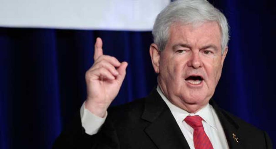 El presidente de la Cámara de Representantes, Newt Gingrich también podría apoyar la candidatura de Trump. (Foto: www.politico.com)