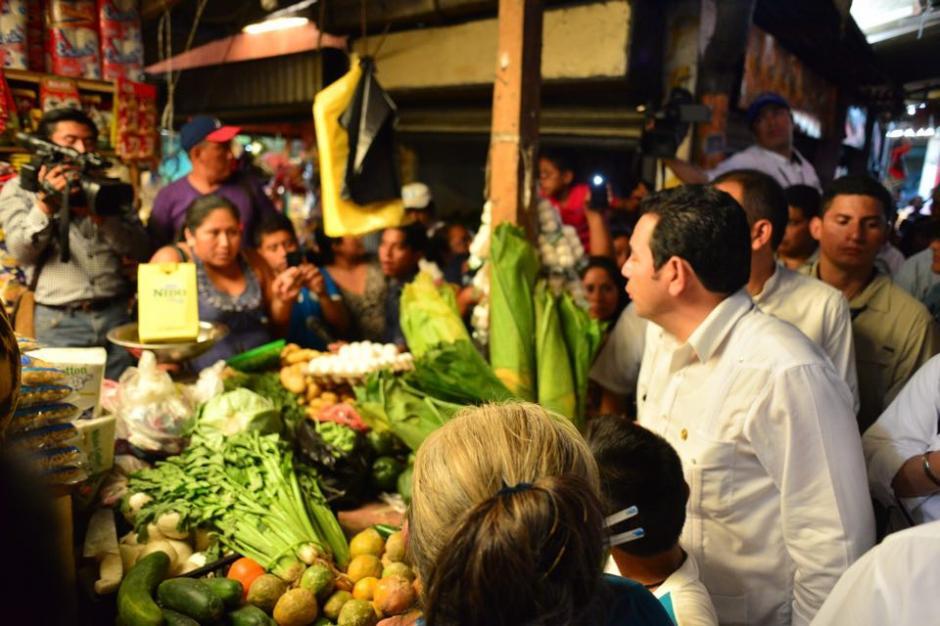 Las peticiones se centraron en reducir los precios de la canasta básica y empleo. (Foto: Jesús Alfonso/Soy502)
