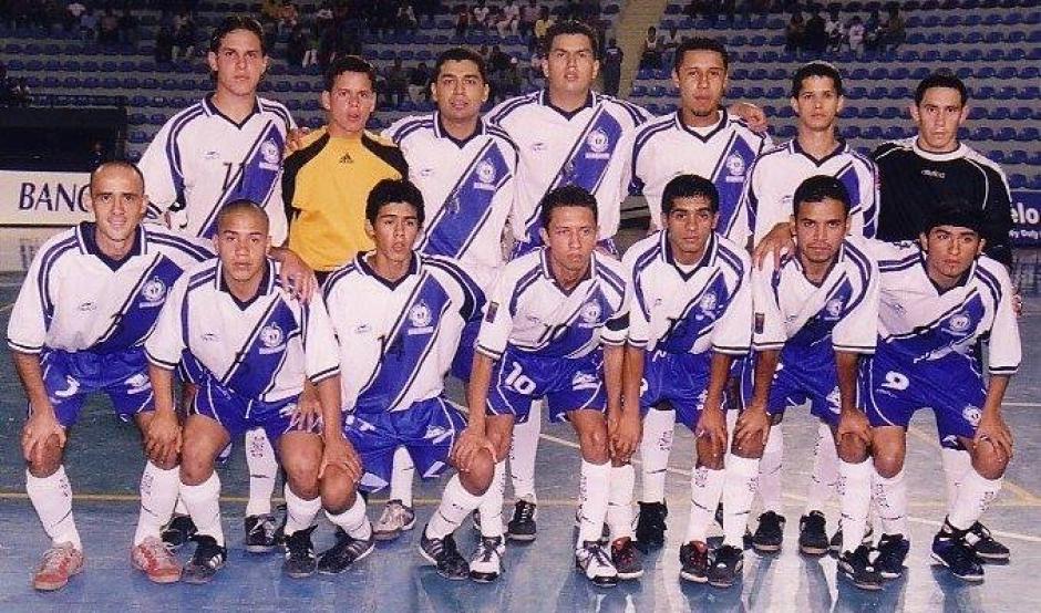 Una de las generaciones doradas del futsal guatemalteco. (Foto: Facebook)
