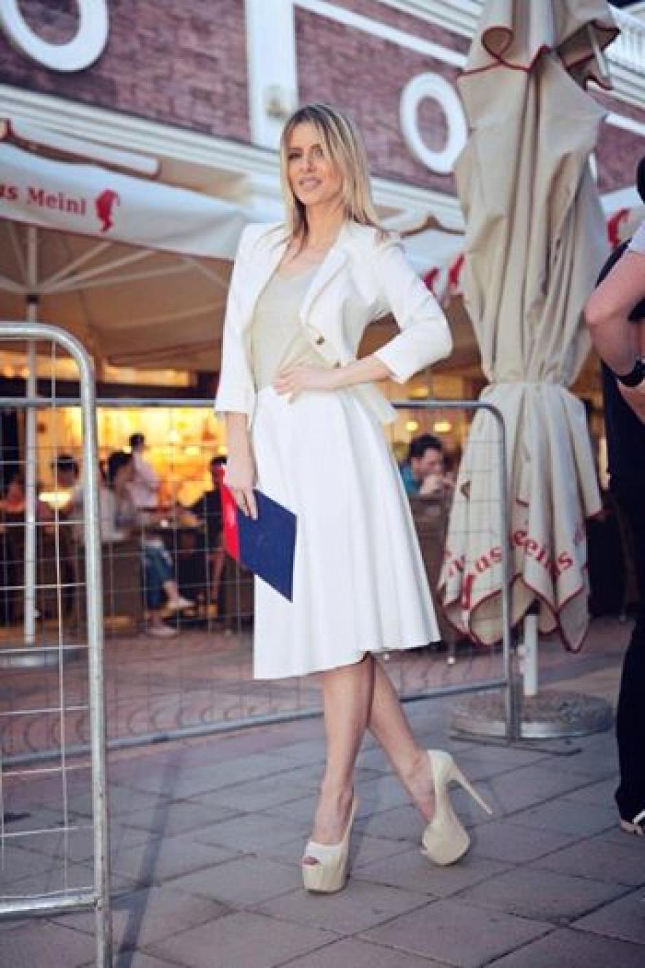 Elegante y muy bella es Slobodanka Tosic. (Foto: Klix)