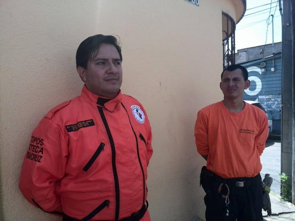 Los Topos regresarán el martes a México, luego de haber colaborado en El Cambray II, Santa Catarina Pinula. (Foto: Gustavo Méndez/Soy502)
