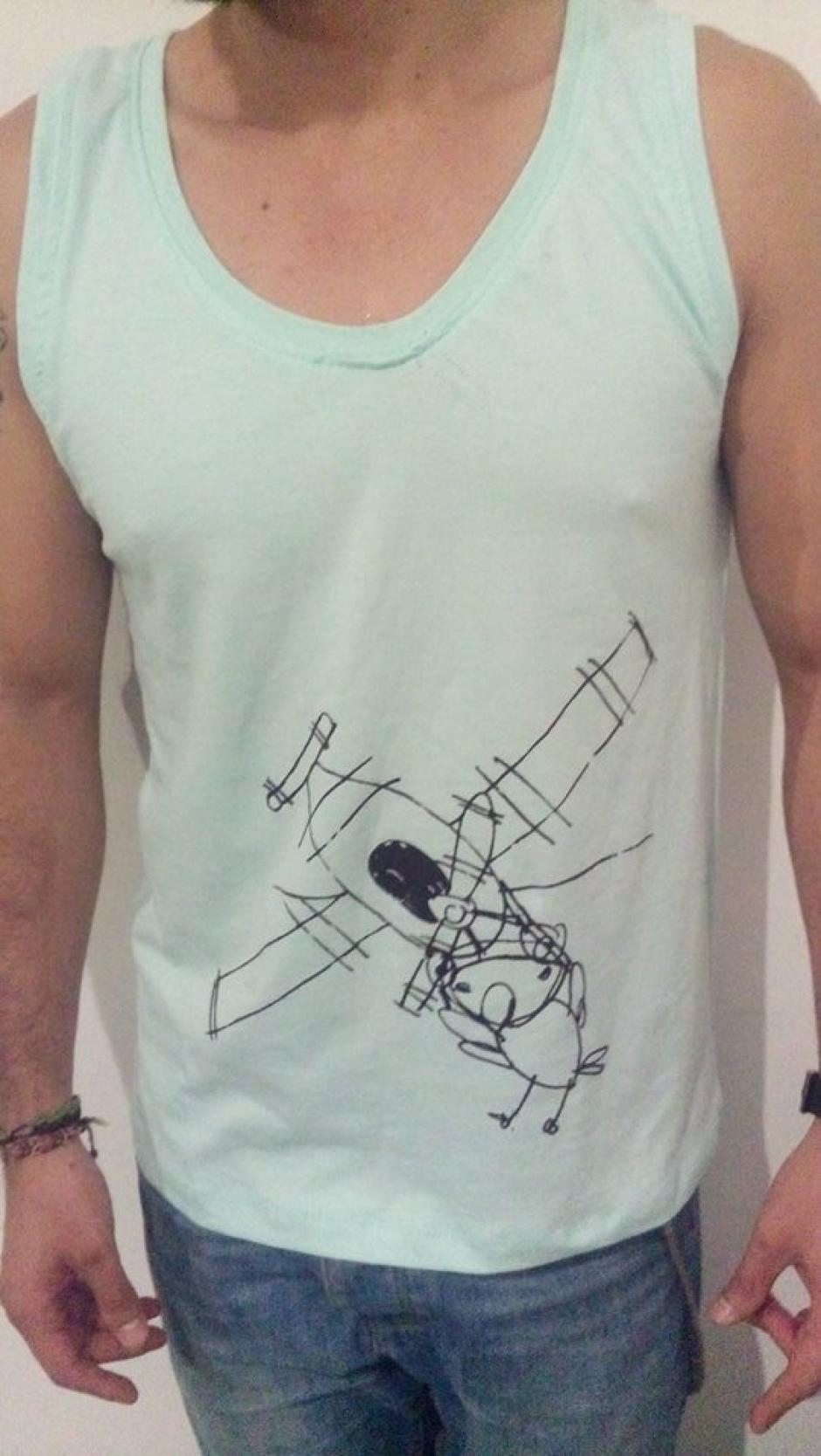 Las playeras y camisetas para hombre van de la talla S a la L.(Foto: Juan Pablo Romero Fuentes)