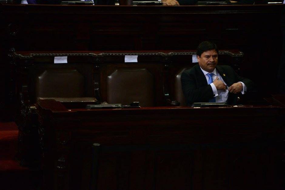 Durante la juramentación se notó la presencia de menos de 60 diputados en el Congreso. (Foto: Wilder López/Soy502)