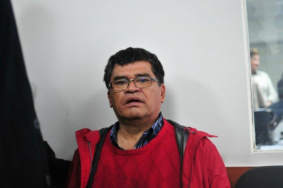 Las autoridades detuvieron al alcalde de Chinautla, Arnoldo Medrano, sindicado de lavado de dinero. (Foto: Alejandro Balán/Soy502)