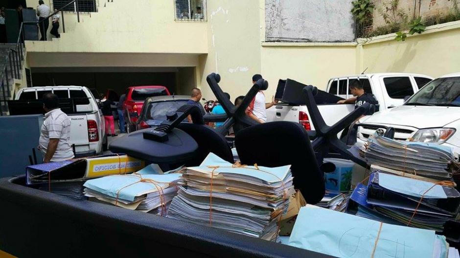 Varias unidades de la PNC fueron desalojadas de sus instalaciones por falta de pago por parte del Ministerio de Gobernación. (Foto: PNC)