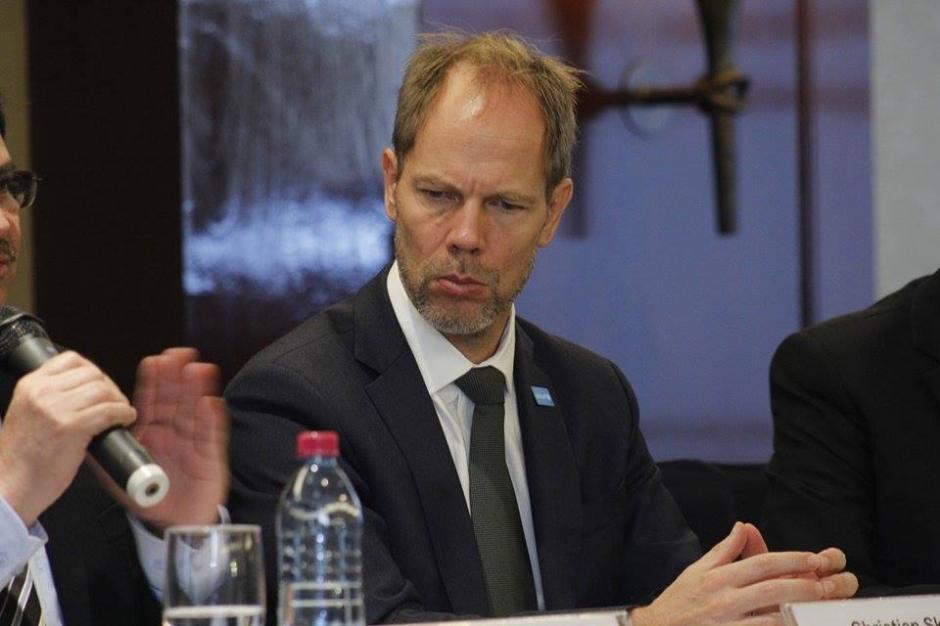 Christian Skoog, representante de UNICEF, recalcó la importancia de mejorar los recursos para las instituciones de seguridad y justicia. (Foto: Jorge Sente/Soy502)