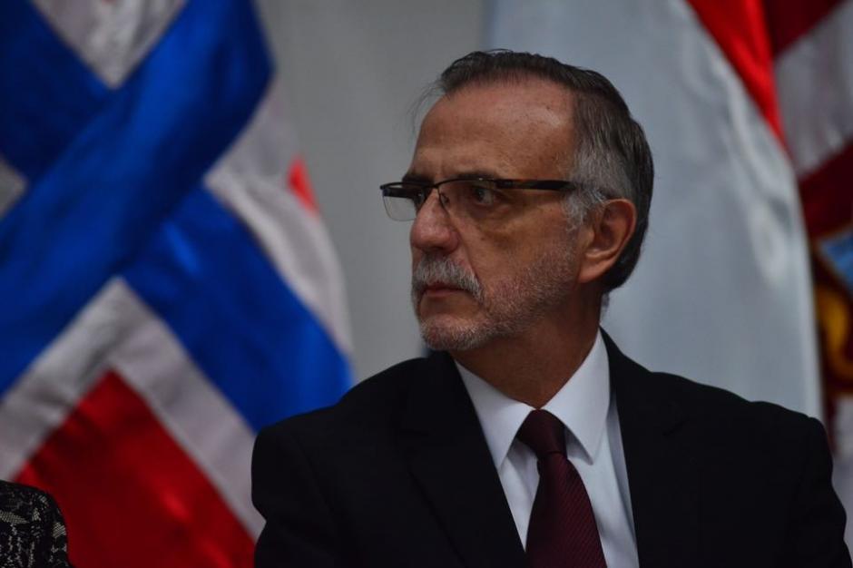 El Comisionado Internacional Contra la Impunidad en Guatemala, Iván Velásquez, durante la entrega del octavo Informe de Labores de la CICIG. (Foto: Jesús Alfonso/Soy502)