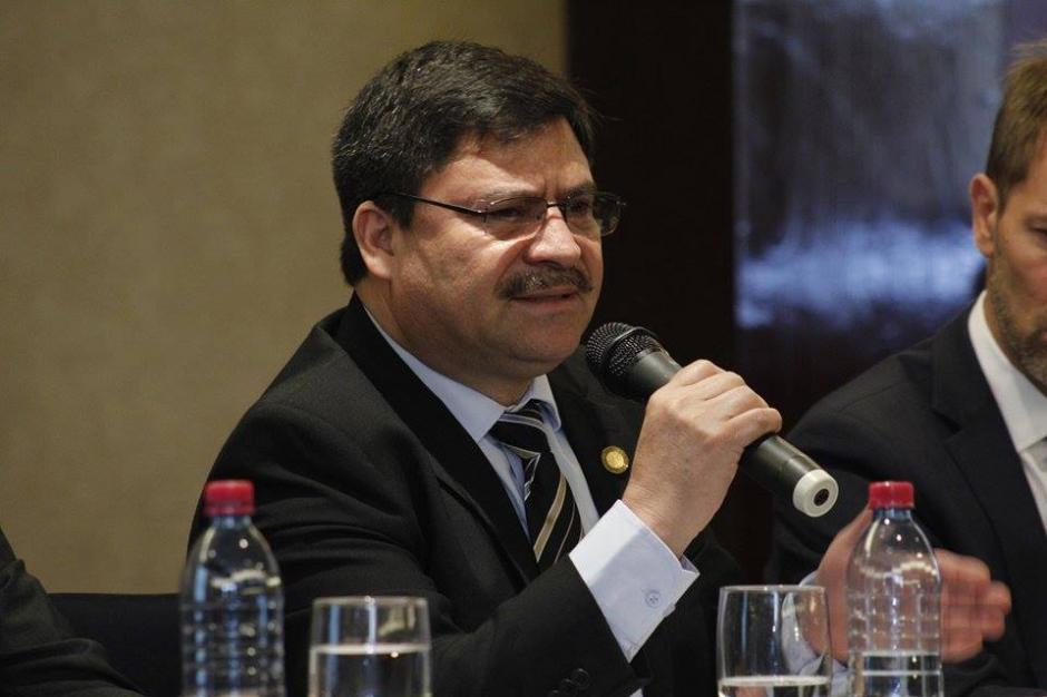 Ranulfo Rafael Rojas, presidente del OJ, explicó que la falta de recursos es uno de los problemas más graves que enfrenta la justicia. (Foto: Jorge Sente/Soy502)