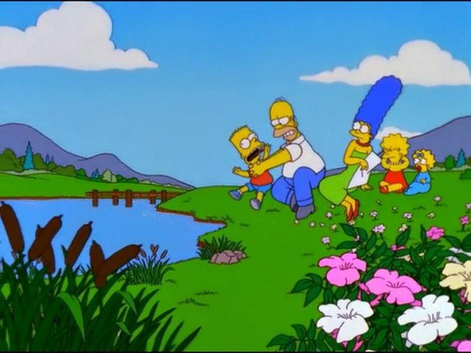 Los integrantes de la familia amarilla han tenido miles de aventuras juntos. (Foto: Frinkiac)