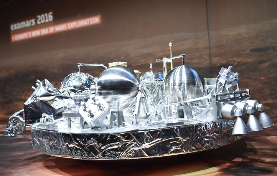 La misión aterrizó este miércoles en Marte. (Foto: EFE)
