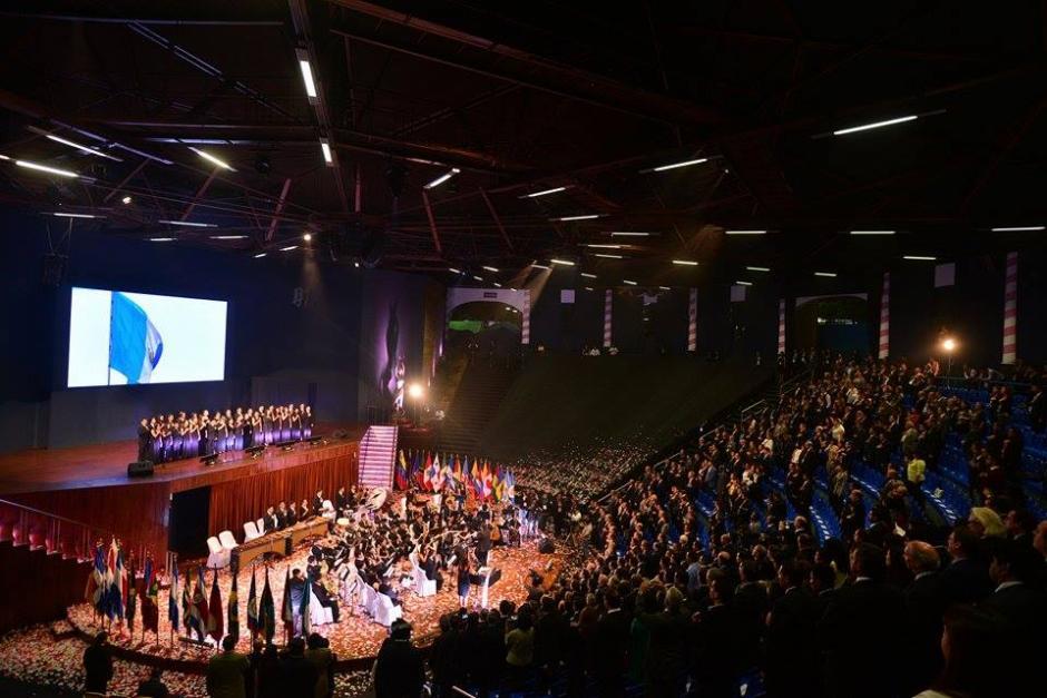 El auditorio para el Foro de Competitividad de Las Américas. (Foto: Wilder López/Soy502)