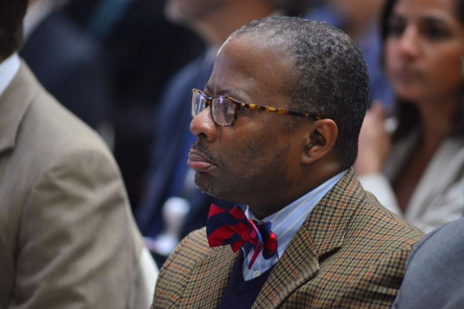 El Embajador de los Estados Estados Unidos, Todd Robinson, durante la entrega del Octavo Informe de Labores de la CICIG. (Foto: Jesús Alfonso/Soy502)