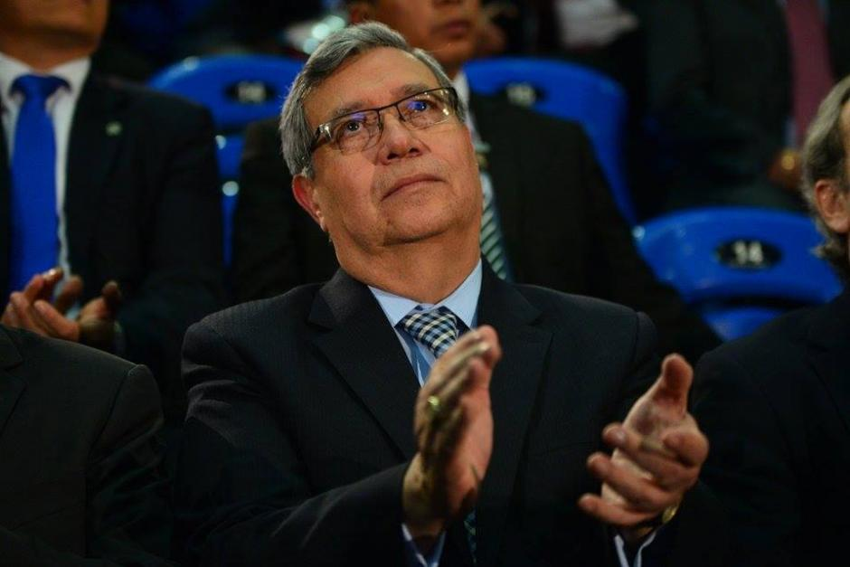 El vicepresidente electo Jafeth Cabrera, asistió a la inauguración del Foro de Competitividad de las Américas pese a que su compañero de fórmula había sido invitado. (Foto: Wilder López/Soy502)