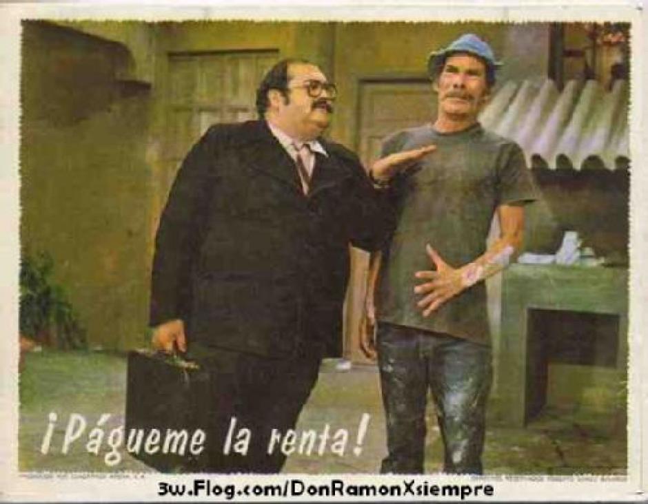 Don Ramón debía 14 meses de renta. (Foto:taringa.net)