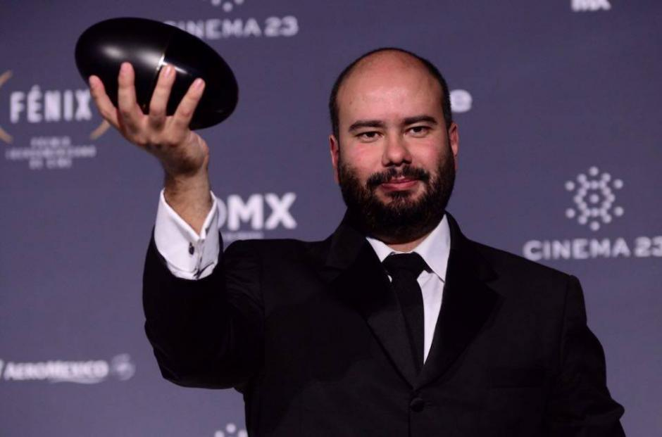 """Ciro Guerra ganó por la dirección de la película """"El Abrazo de la Serpiente"""". (Foto: Selene Mejía/Soy502)"""