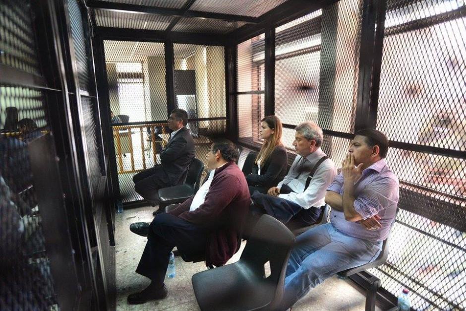 Se realiza audiencia en la que se definirá la situación legal de los implicados en el caso conocido como Redes. (Foto: Wilder López/Soy502)