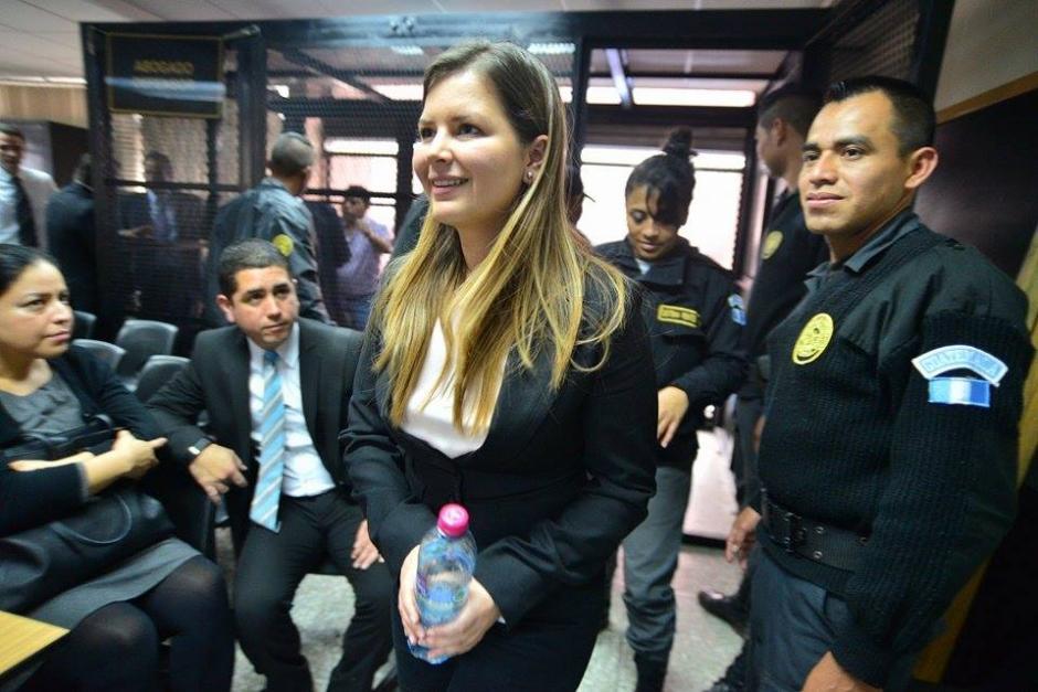 Karen Paola Cancinos Muñoz es acusada de lavado de dinero u otros activos, por el caso conocido como Redes. (Foto: Wilder López/Soy502)