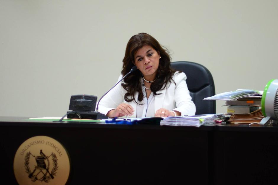 """Carol Flores fue separada como jueza de Mayor Riesgo """"A"""" por una investigación abierta por supuesta corrupción. (Foto: Archivo/Soy502)"""