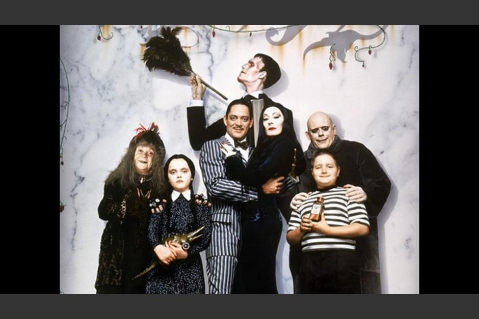 La familia Addams. (Foto: minuto30)