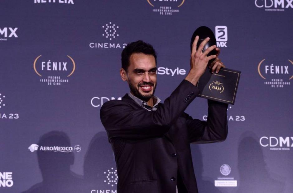 Nascuy Linares se llevó el Fénix por la mejor Música Original por la película El Abrazo de la Serpiente, producida en conjunto por Colombia, Argentina y Venezuela. (Foto: Selene Mejía/Soy502)