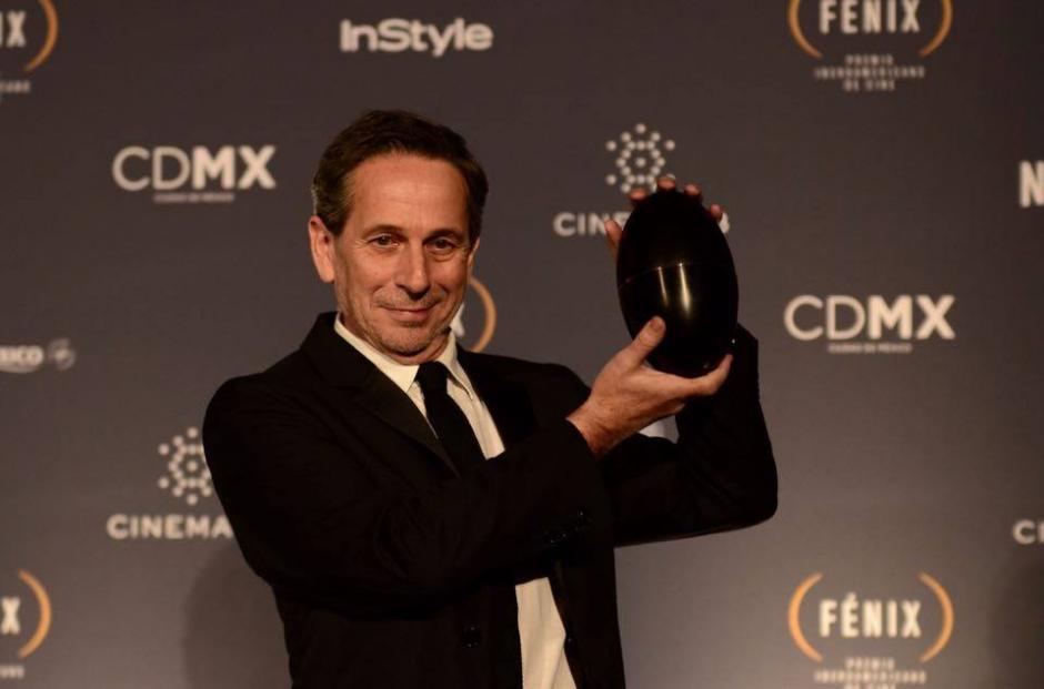 Alfredo Castro se llevó el Fénix a mejor actor, por la película chilena, El Club. (Foto: Selene Mejía/Soy502)