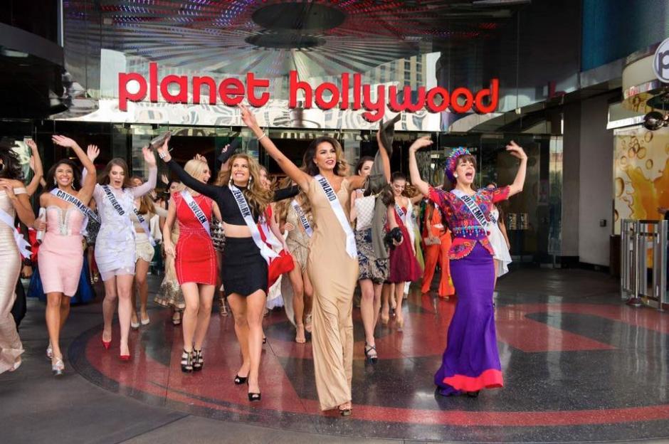 Miss Costa Rica criticó el vestuario de la guatemalteca, la única que llevaba un traje que sobresalía de las demás. (Foto: Miss Guatemala oficial)