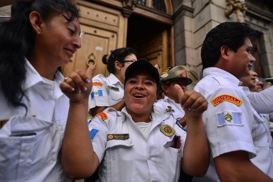 A partir de ahora los Bomberos Voluntarios tendrán un incremento en el presupuesto anual y será distribuido entre todas las estaciones de los socorristas. (Foto: Wilder López/Soy502)