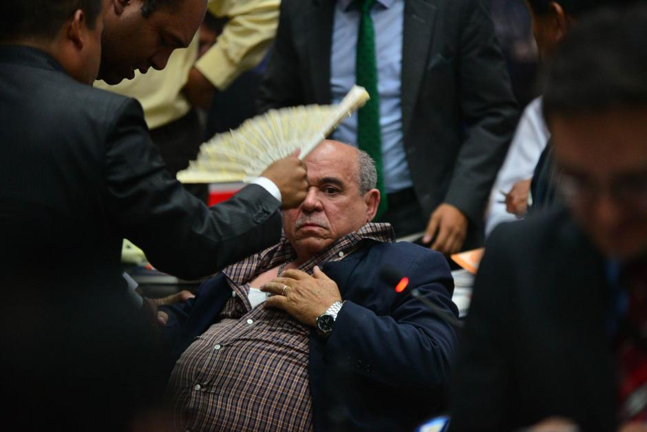 El abogado perdió el control en un enfrentamiento con el Fiscal. (Foto: Wilder López/Soy502)