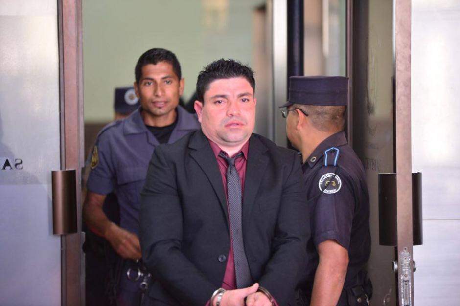 """""""El Taquero"""", en su visita este martes a Tribunales.(Foto: Jesús Alfonso/Soy502)"""