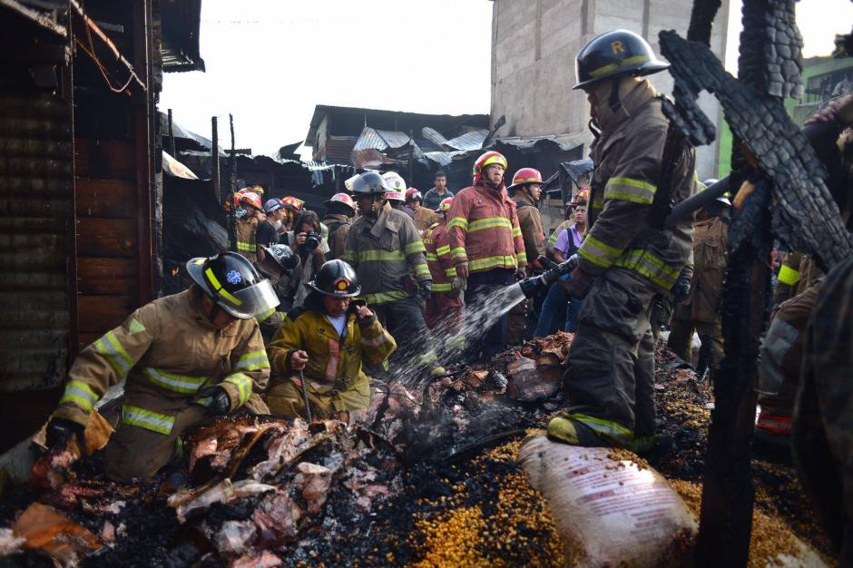 Dos años después del último incendio, se registra de nuevo otro. (Foto: Jesús Alfonso/Soy502)