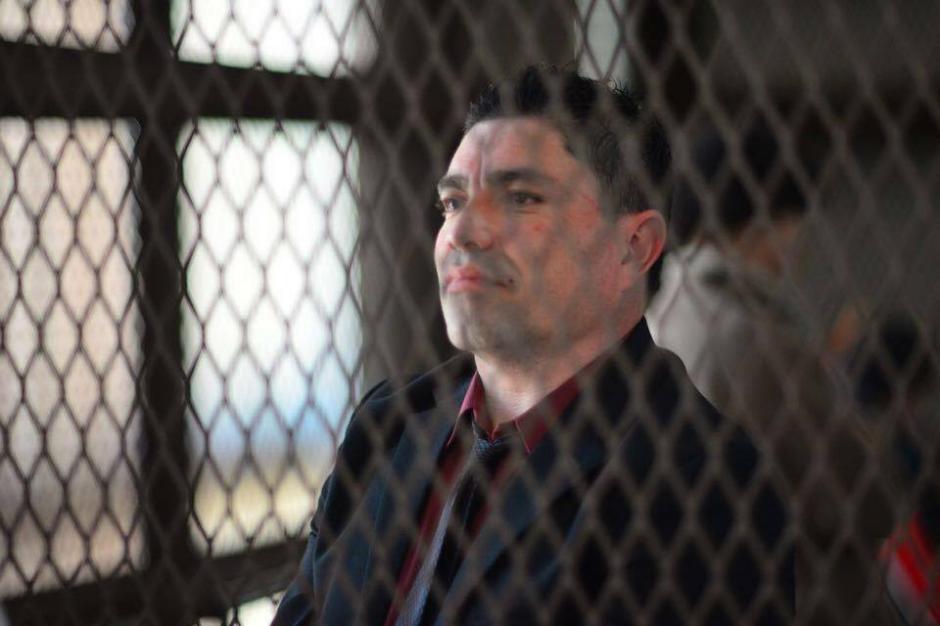 """Marvin Montiel Marín, más conocido como """"El Taquero"""", se presentó este martes a Tribunales. (Foto: Jesús Alfonso/Soy502)"""