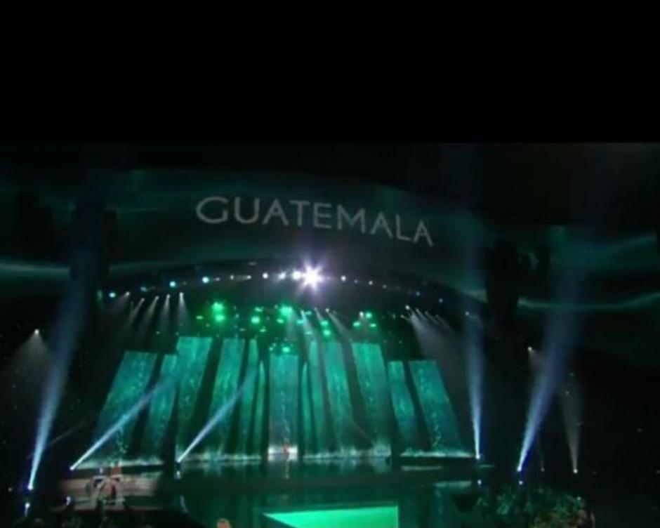 Guatemala a su paso por la preliminar de Miss Universo, celebrada el 16 de diciembre de 2015. (Foto: Miss Guatemala)