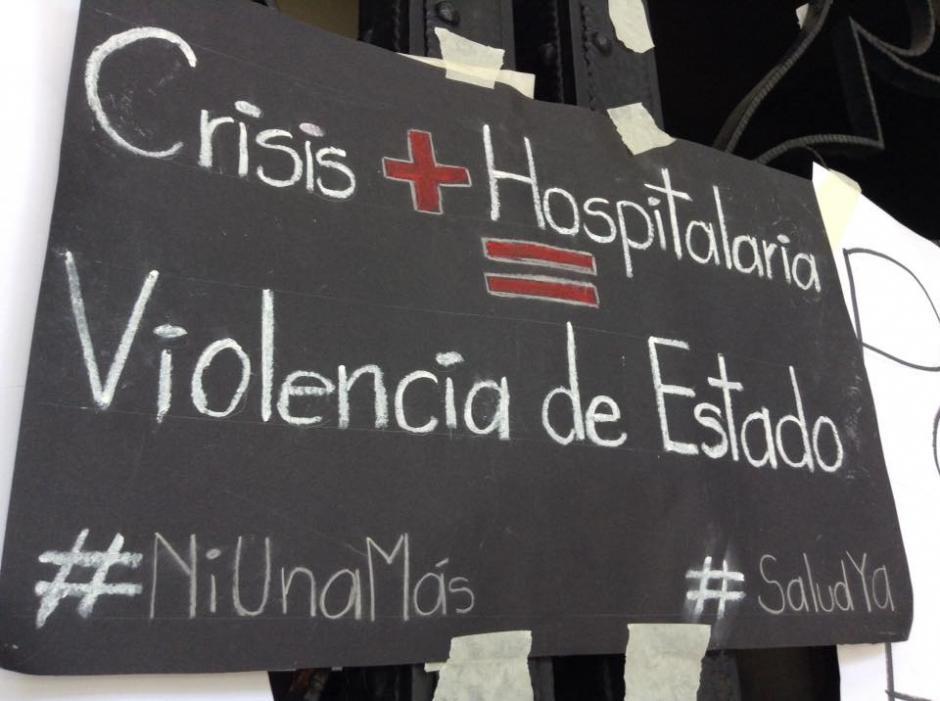El grupo de representantes de organizaciones ciudadanas aseguró que continuará apoyando a los hospitales. (Foto: Marcia Zavala/Soy502)