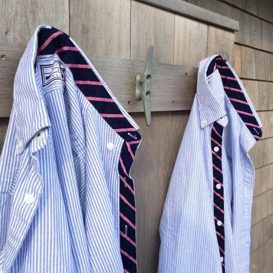 Esta pieza sirve para colgarlas y que no se arruguen si no hay una percha cerca. (Foto: elsalvador.com)