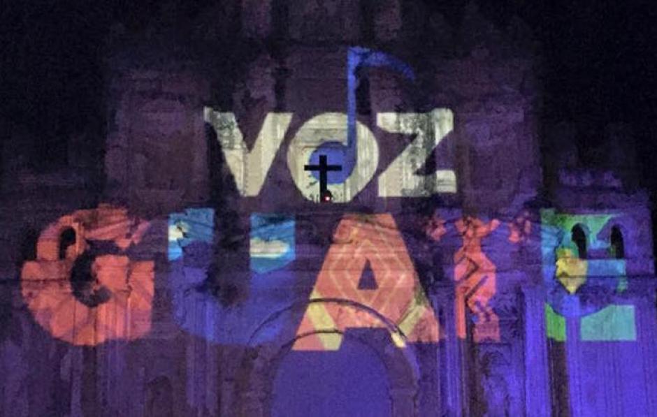 """La primera edición del festival """"Voz Guate"""" se llevó a cabo el 11 de diciembre en La Ermita de la Santa Cruz, Antigua Guatemala."""